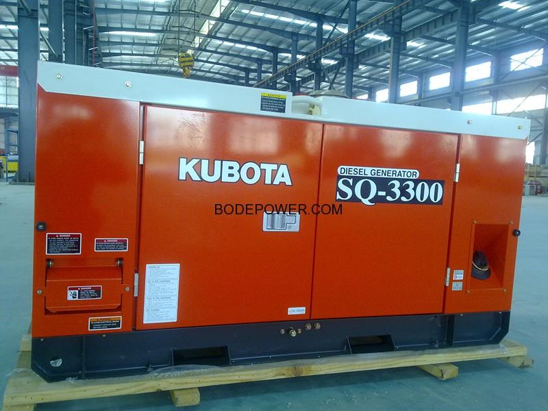 15kVA/12kw Kuobta Diesel Generator – Fujian Bode Power Co , Ltd